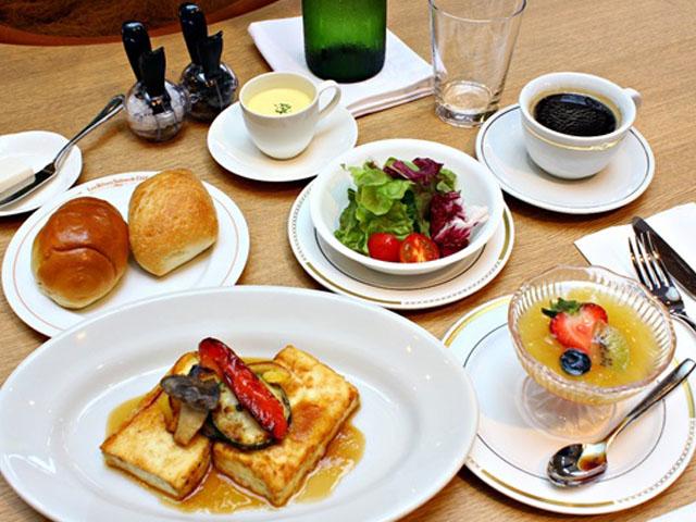 FujiQ Lunch (vegetarian)