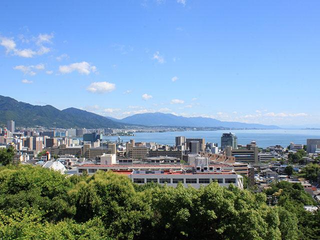 Lake Biwa (Japan_s largest lake)