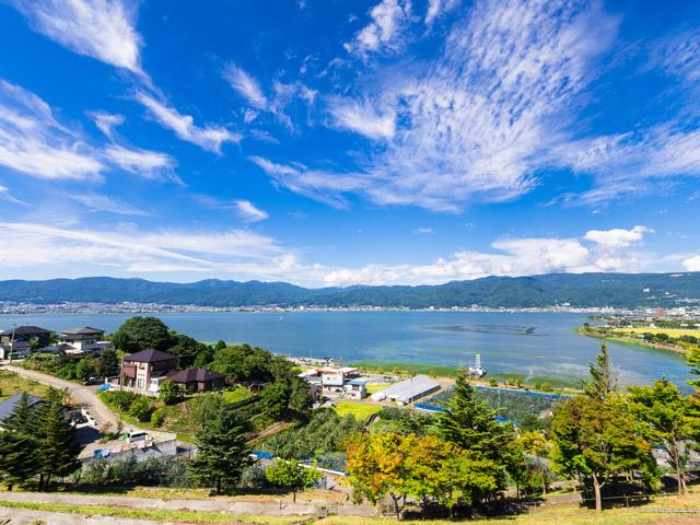 Lake Suwa【pl_ID4645238】