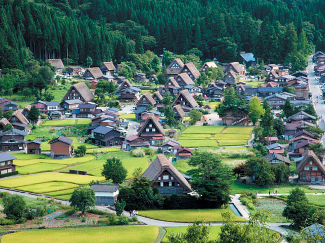 Shirakawago (summer)_kikakuhanbaika