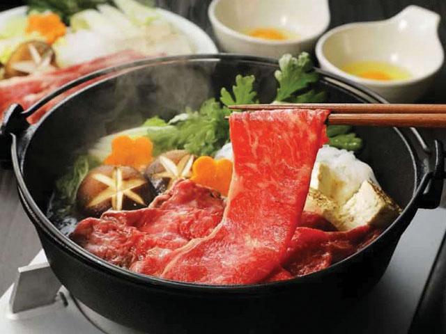 sukiyaki lunch