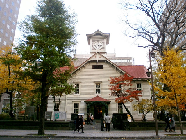 clock tower sapporo