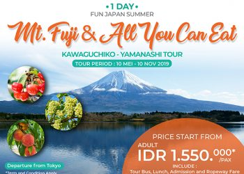 1 Day Mt. Fuji & All You Can Eat Fruits Tour By Club Tourism