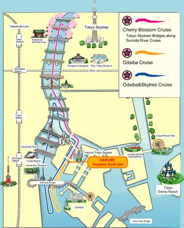 yakatabune map