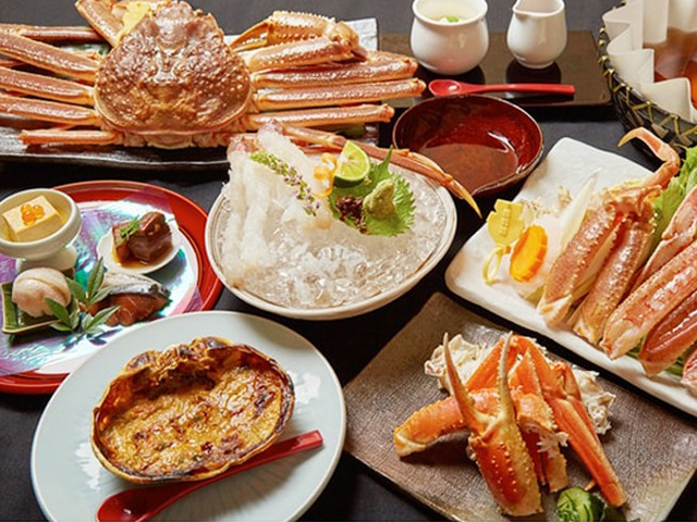 snow crab lunch