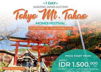 1 Day Tokyo Mt. Takao Momiji Festival Tour By Sunrise Tours