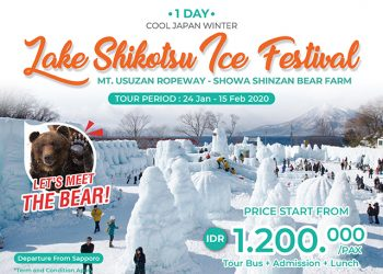 Lake Shikotsu Hyoto Ice Festival Tour by Chuo Bus