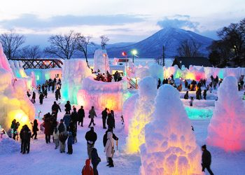 Winter Experience Snow Land & Lake Shikotsu Ice Festival Tour by Chuo Bus