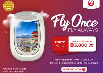Fly Once Fly Always with Japan Airlines